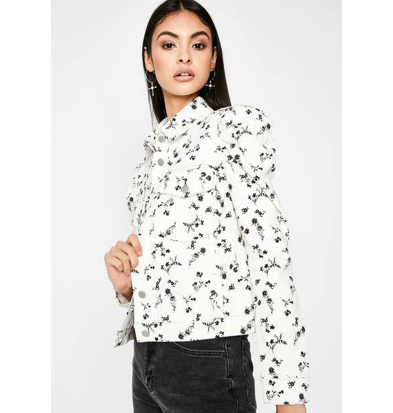 Fall For Me Floral Jacket