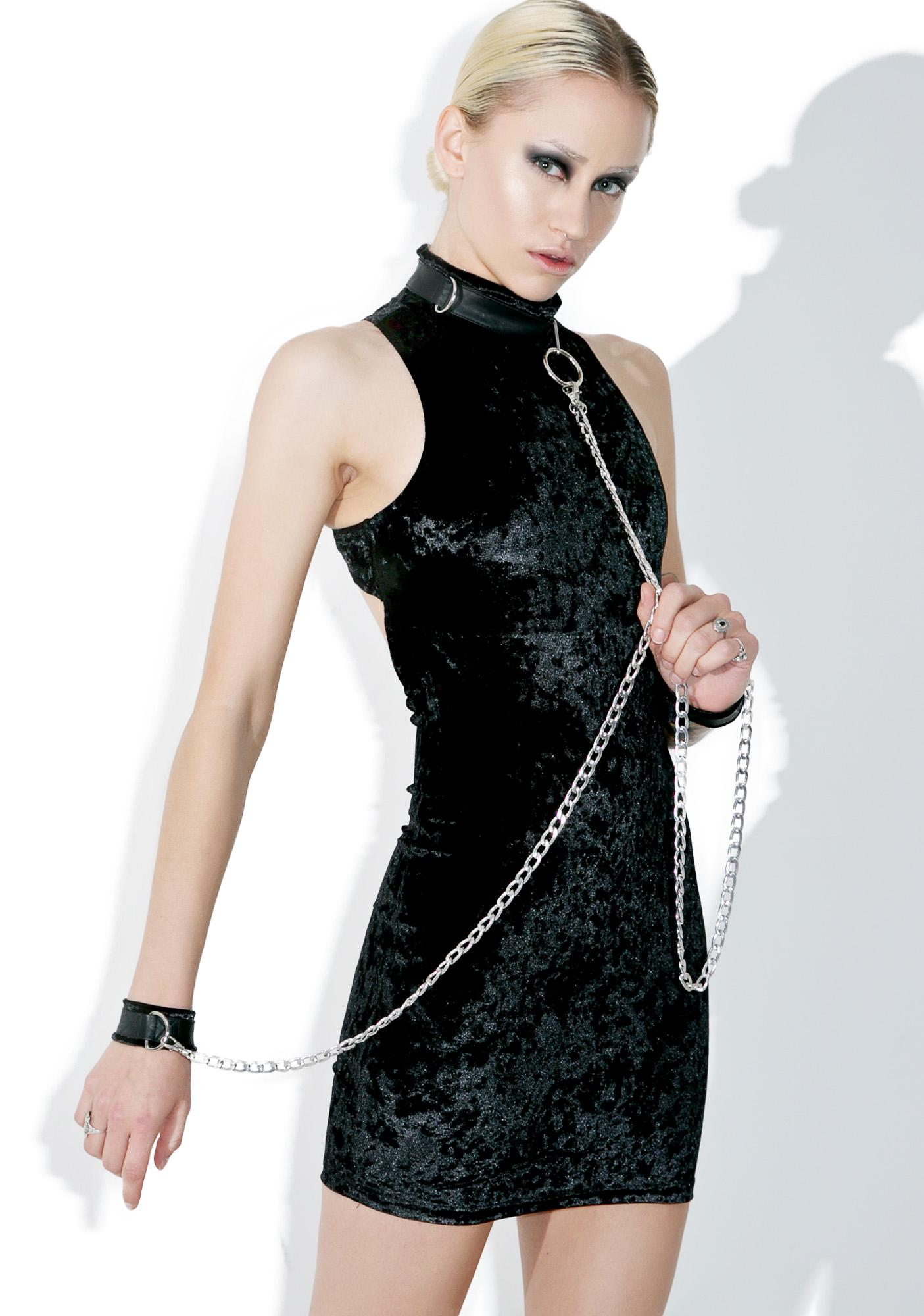 Current Mood Viper Bondage Mini Dress