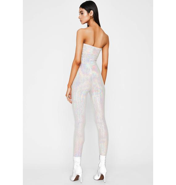Disco Dreamland Hologram Jumpsuit