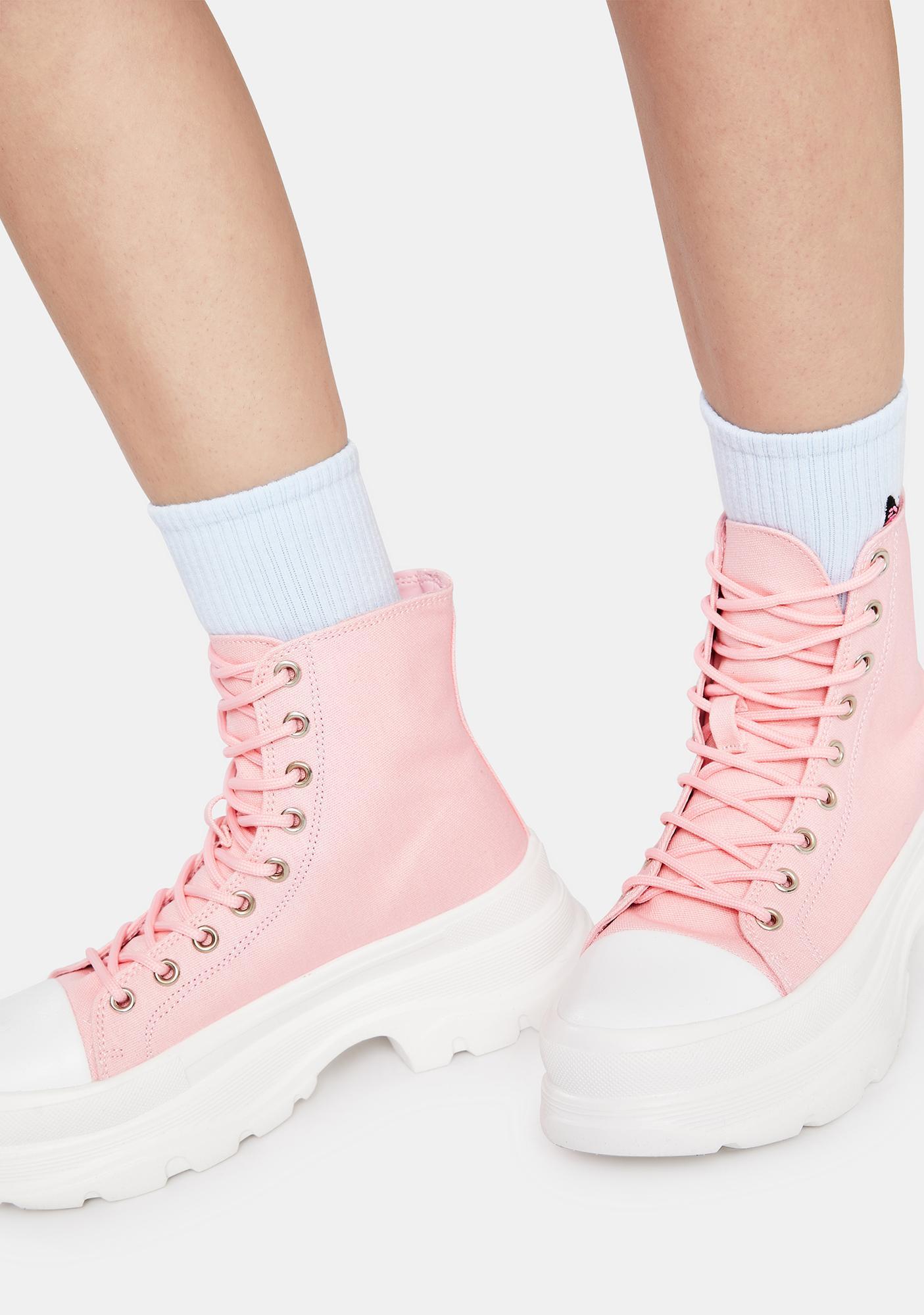 Pink Public Admirer Boots