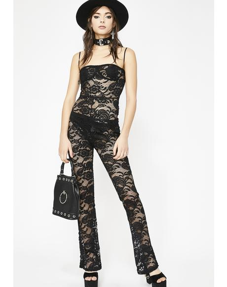 Wicked True Queen Lace Jumpsuit