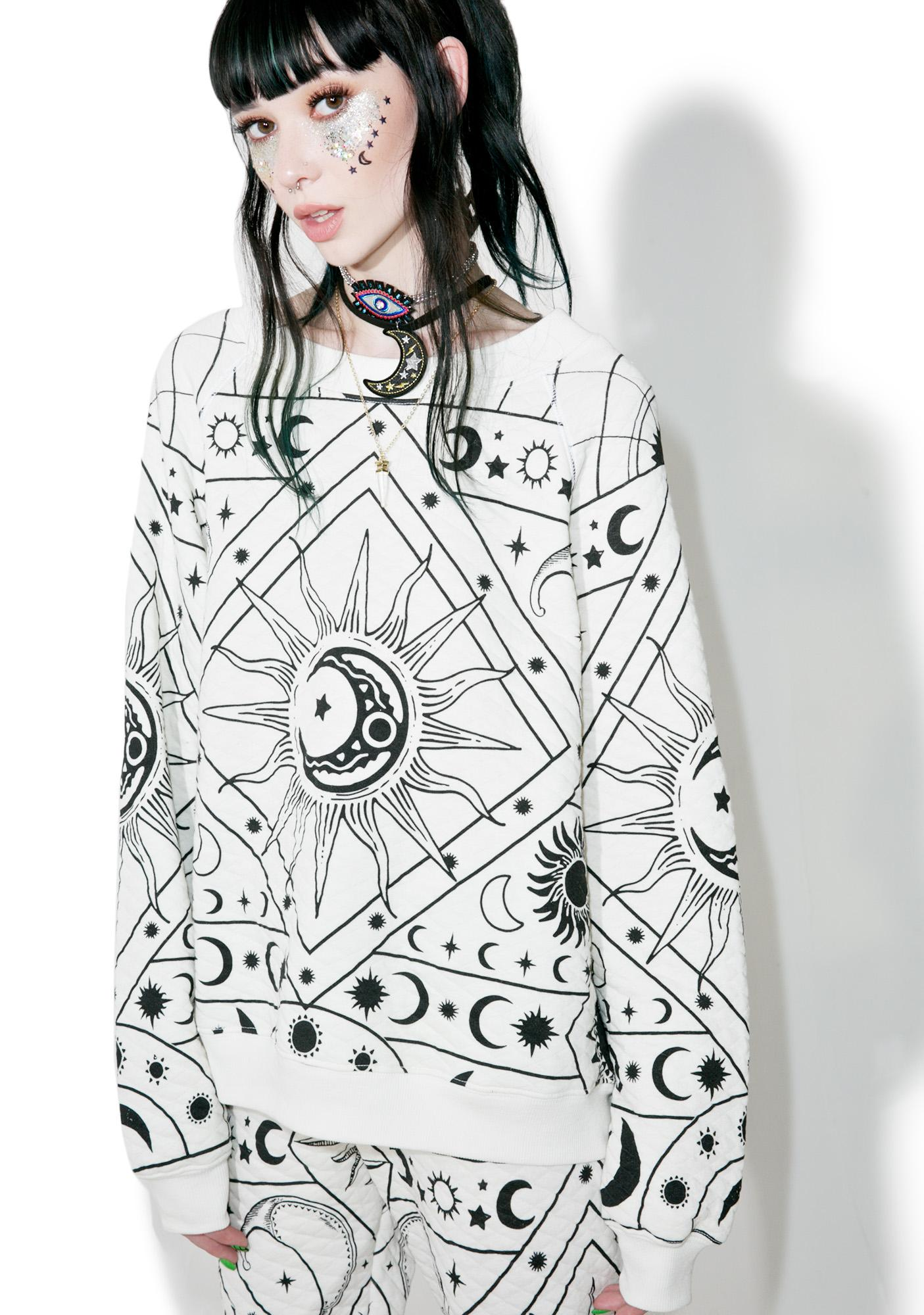 Wildfox Couture Moon Astrology Sommers Sweater