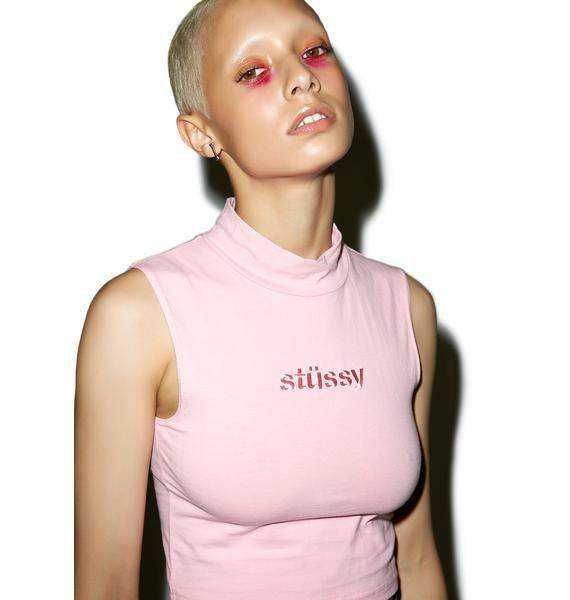 Stussy Simple Mock Neck Tank