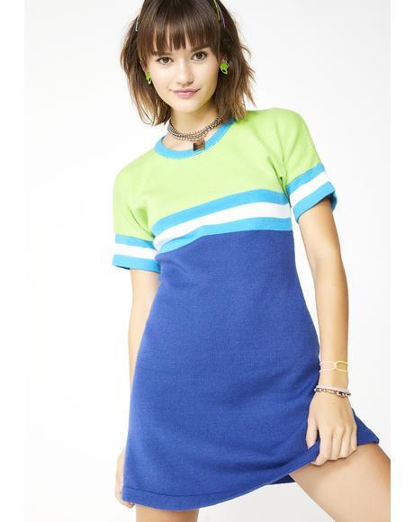 Elemental Like H2O Sweater Dress
