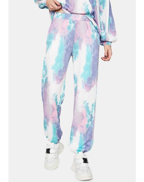 Trippy Trance Tie Dye Sweatpants