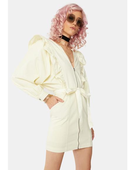 Imogene Ruffle Mini Dress