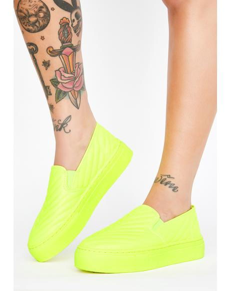 Highlight Heartbreaker Slip On Sneakers