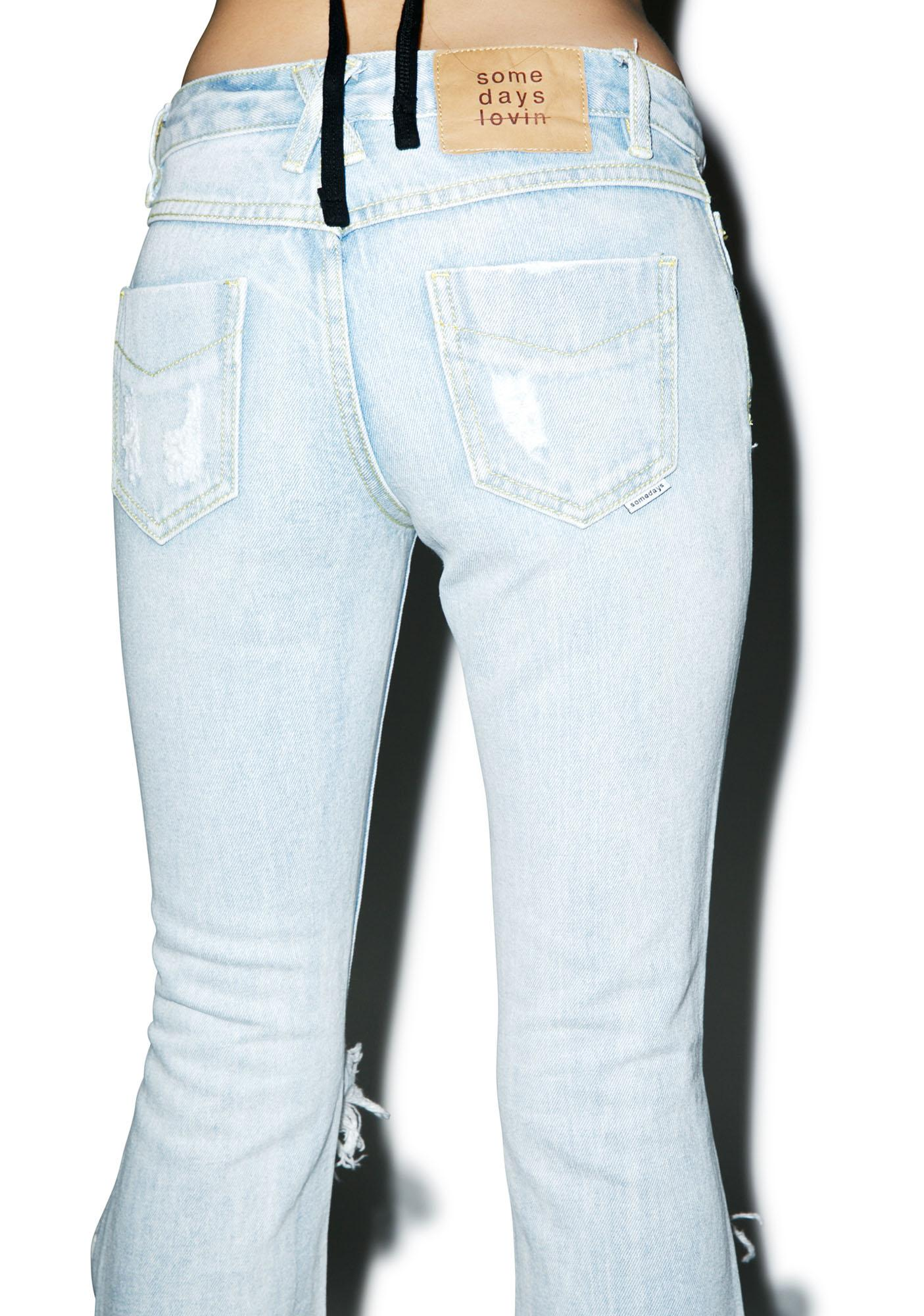 Somedays Lovin Gazer Rigid Denim Flares