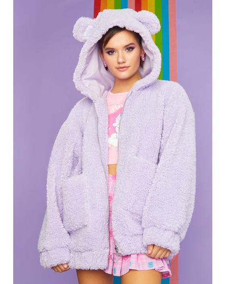 Magic Warm Fuzzies Oversized Hoodie