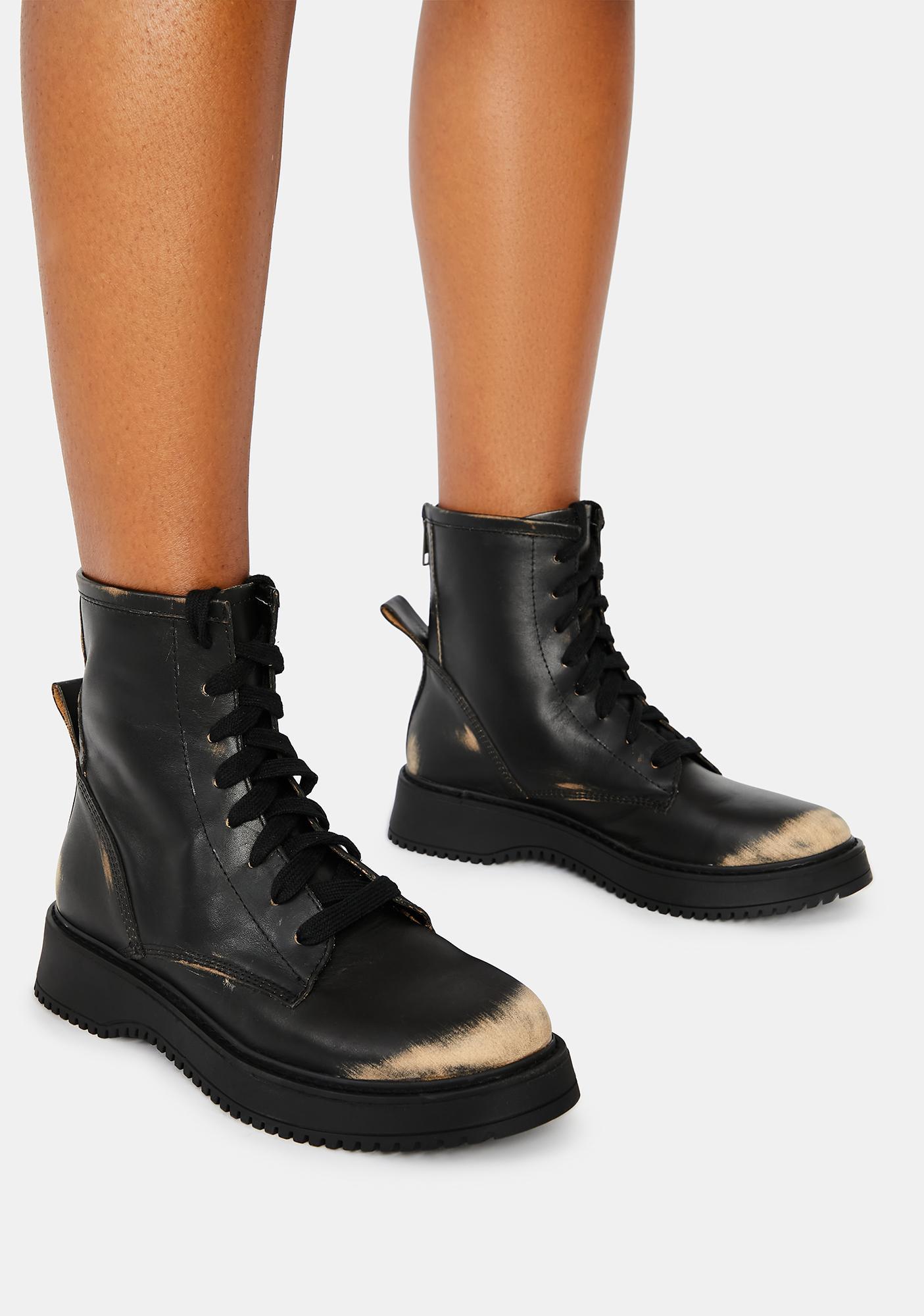 Steve Madden Farley Combat Boots