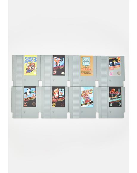 Game On Cartridge Coasters