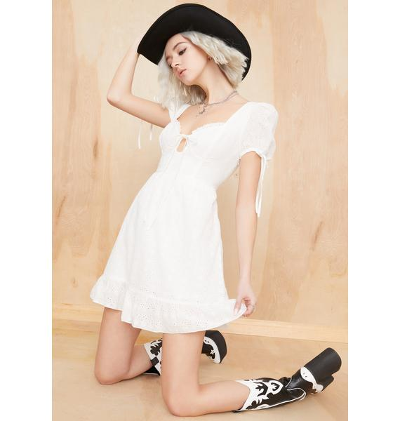 Current Mood Wander Rush Babydoll Dress