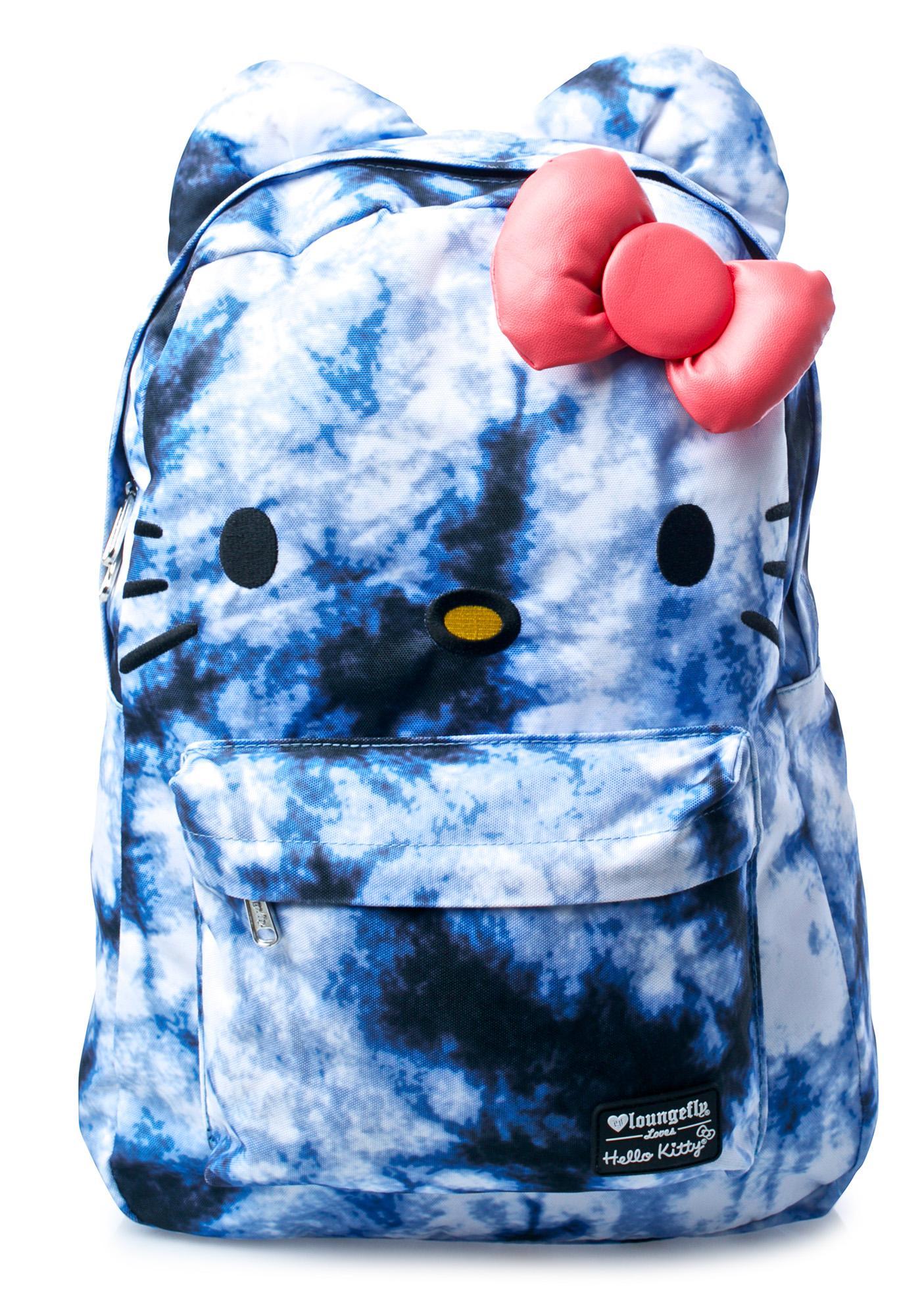 Loungefly Hello Kitty Tie Dye Backpack