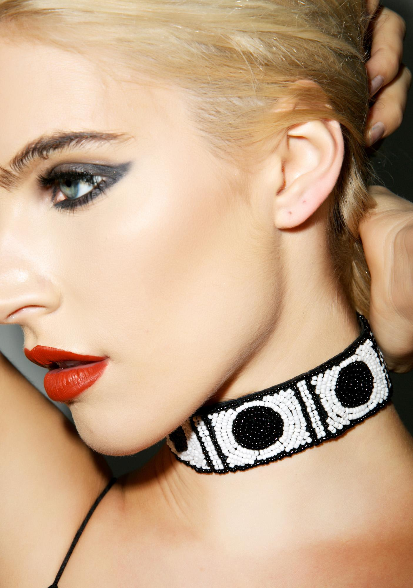 This Is A Love Song Sequin Choker