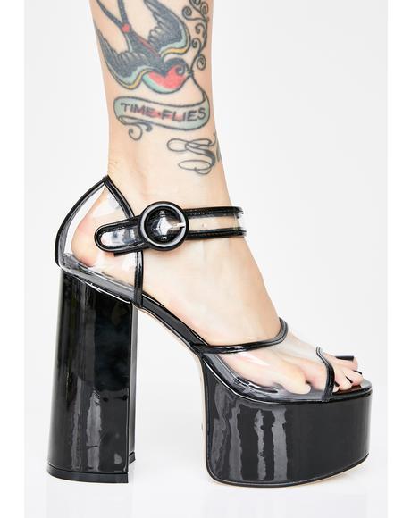 High Life Platform Heels