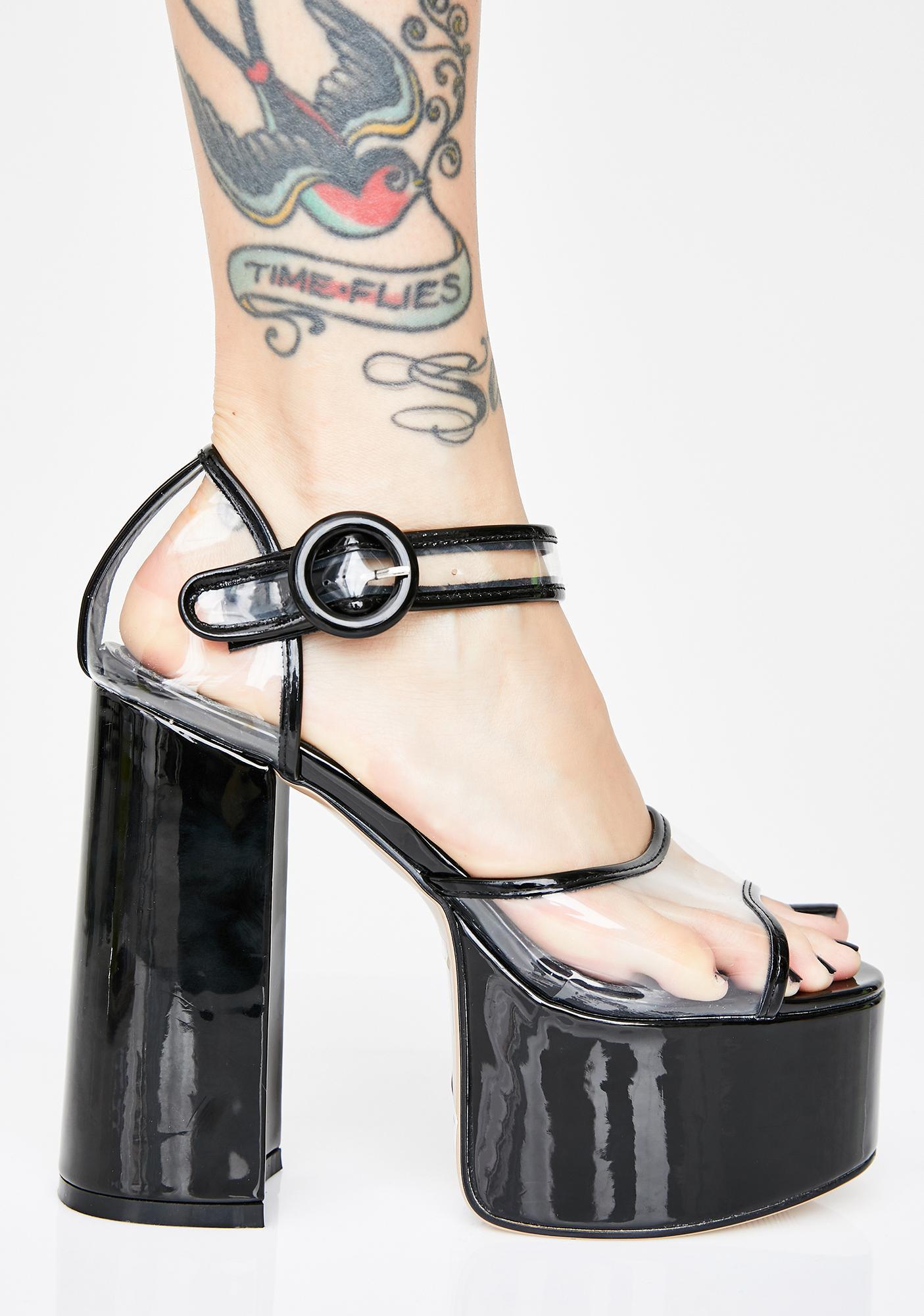 Lamoda High Life Platform Heels
