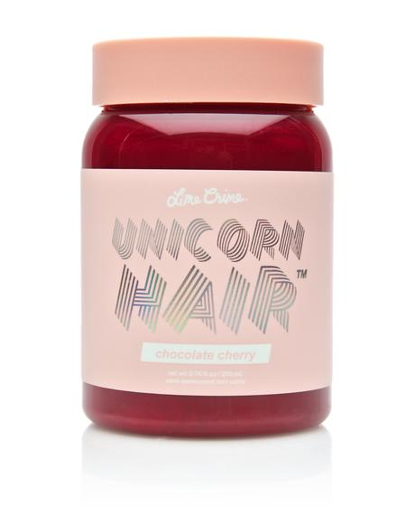 Chocolate Cherry Unicorn Hair Dye