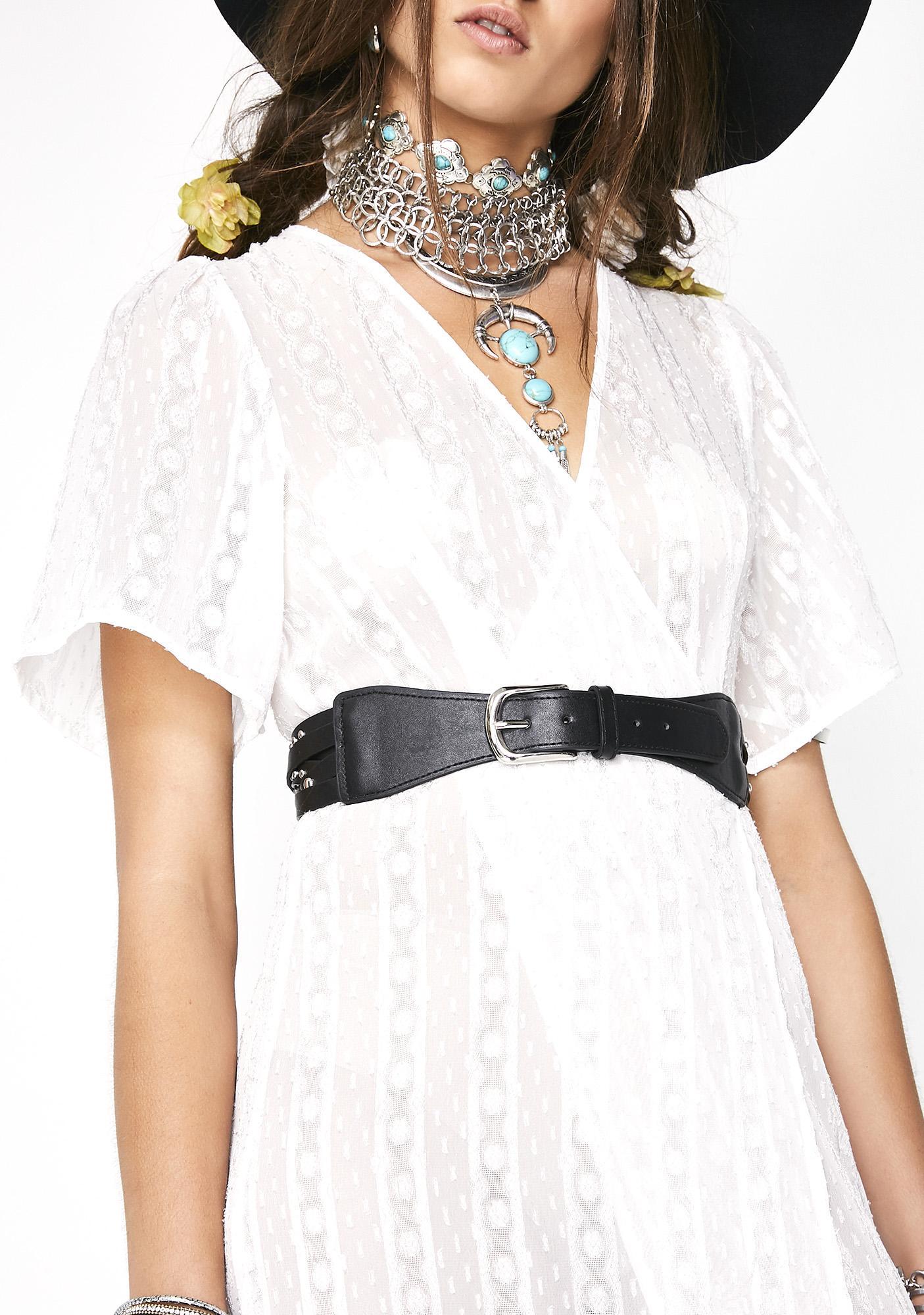 Tell Me More Studded Belt