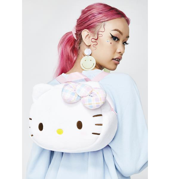 Sanrio Face Plush Backpack