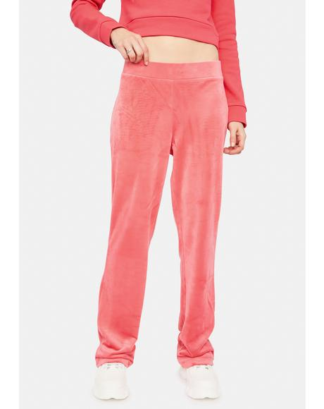 Luxe Velour Sweatpants