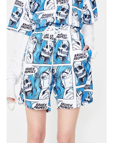 Only One Printed Shorts
