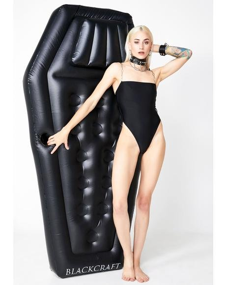 Coffin Pool Float