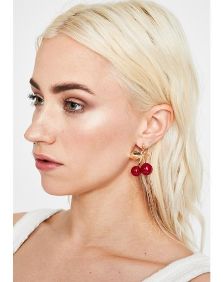 She's My Cherry Pie Earrings