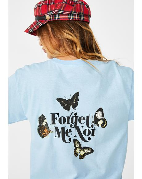 Forget Me Not Graphic Tee