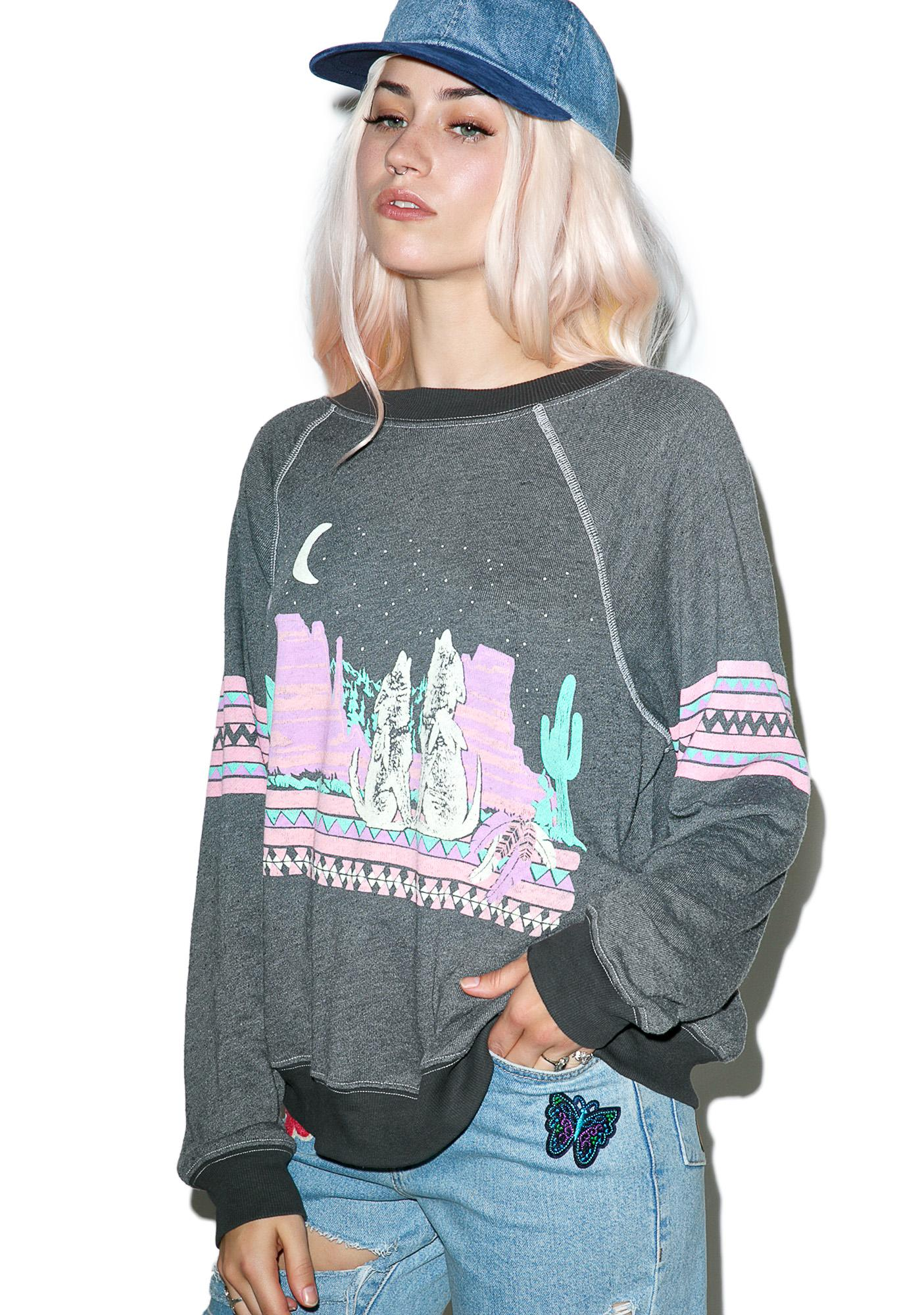 Wildfox Couture Desert Glow Kim's Sweater