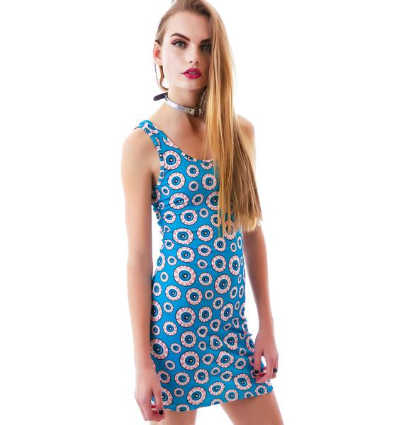 Sourpuss Clothing Optical Delusion Dress