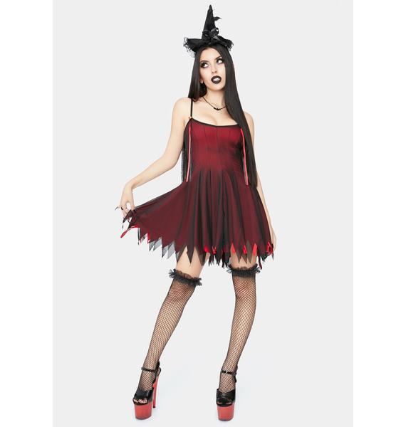 Dolls Kill Witches Blood Costume Set