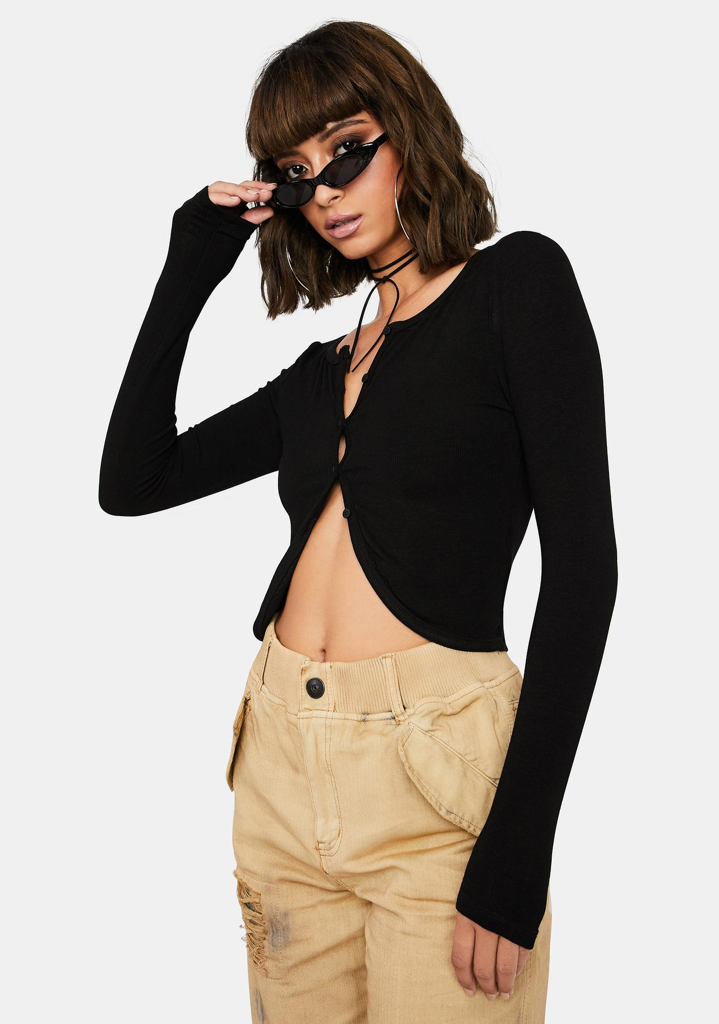 Throwback Chic Crop Top