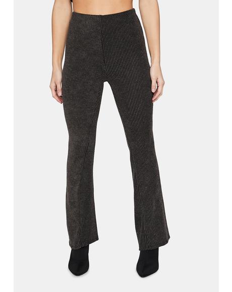 Gotta Find You Crop Flare Pants