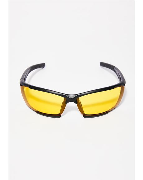 Evil Eye Square Sunglasses