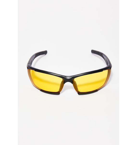 Evil Eye Square Sunglasses