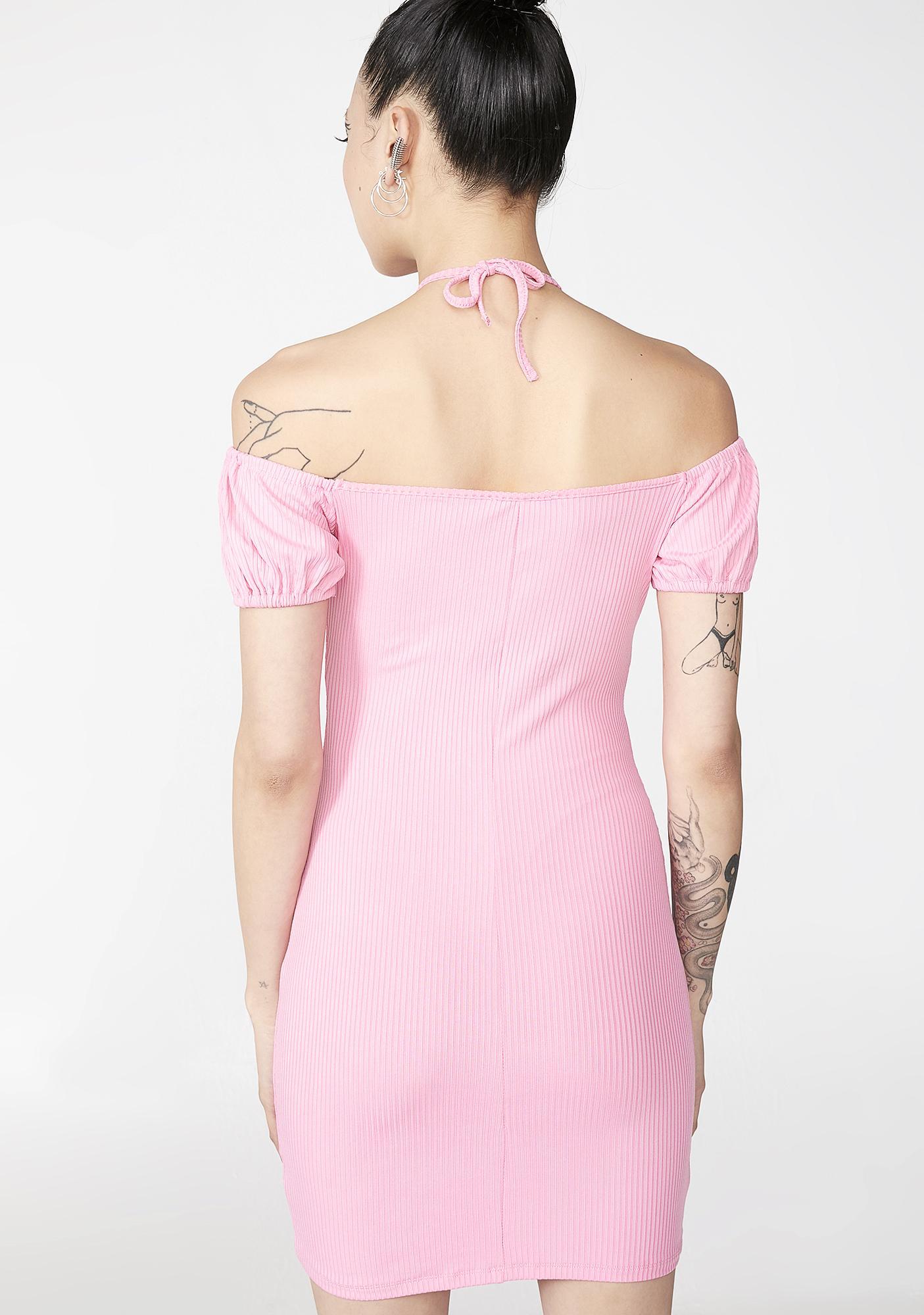 Love Bait Lace-Up Dress
