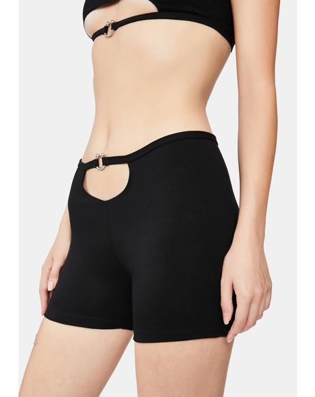 Pierced Shorts