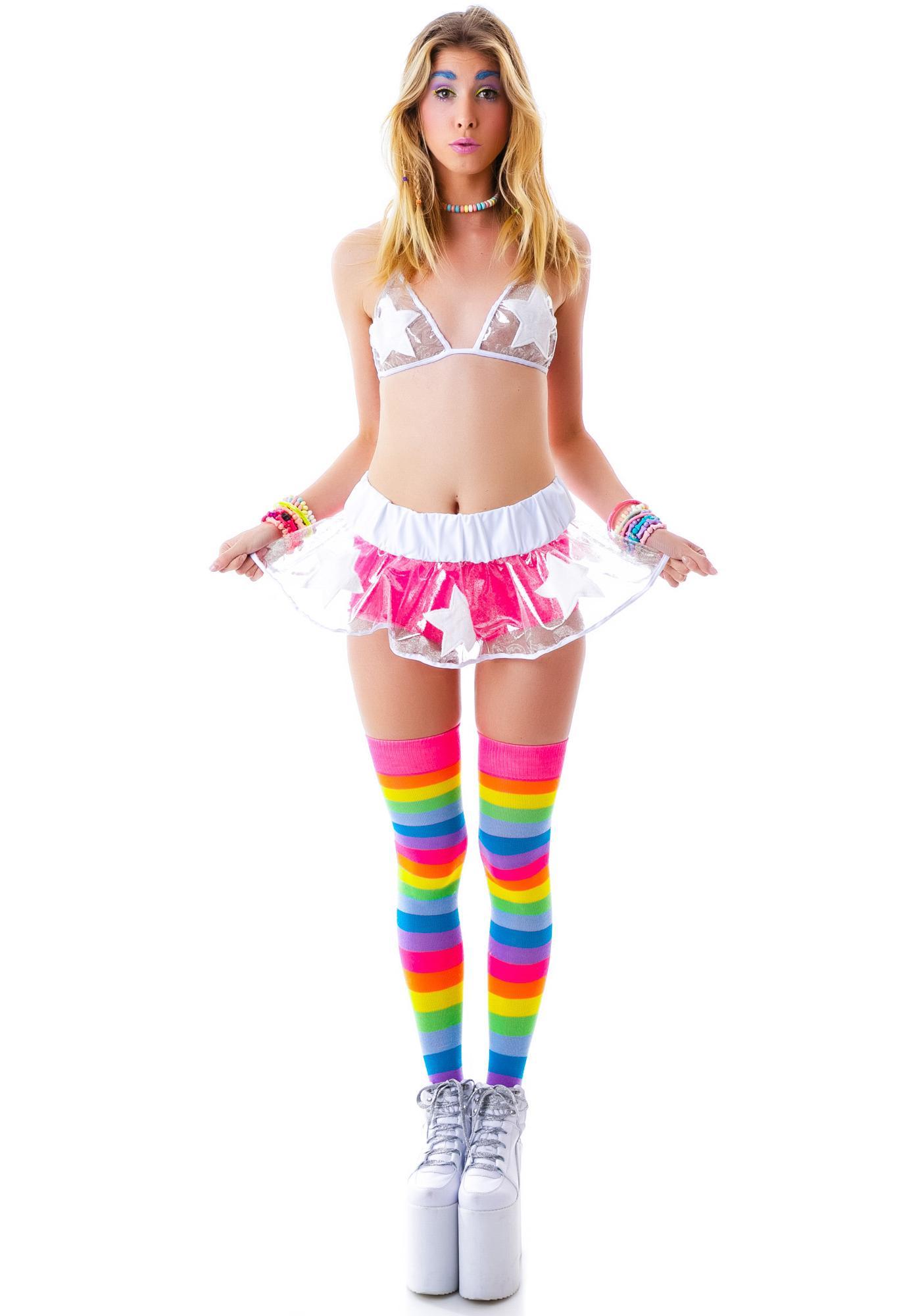 J Valentine Wish Upon A Star Skirt Set