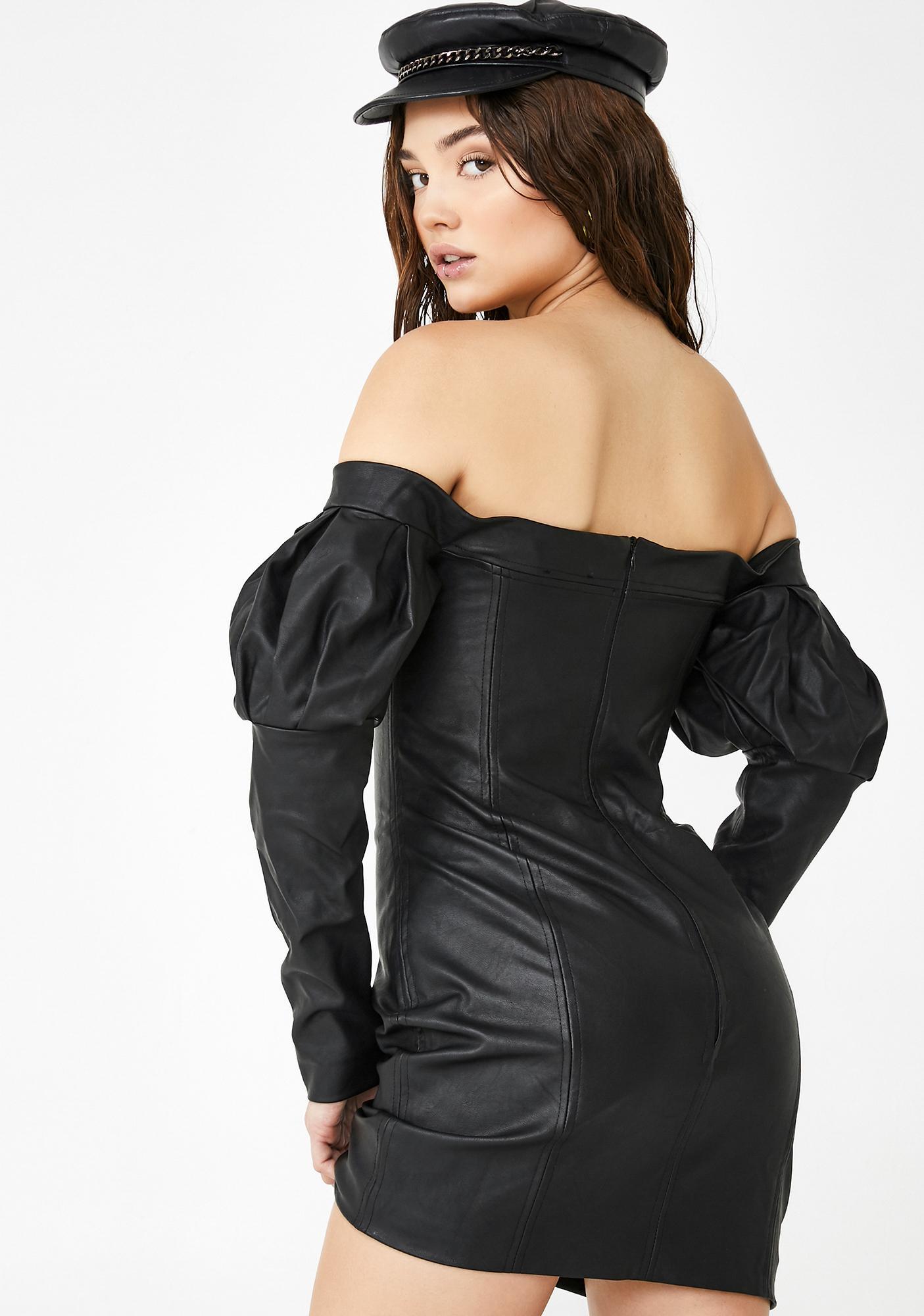 Kiki Riki Can't Touch This Mini Dress