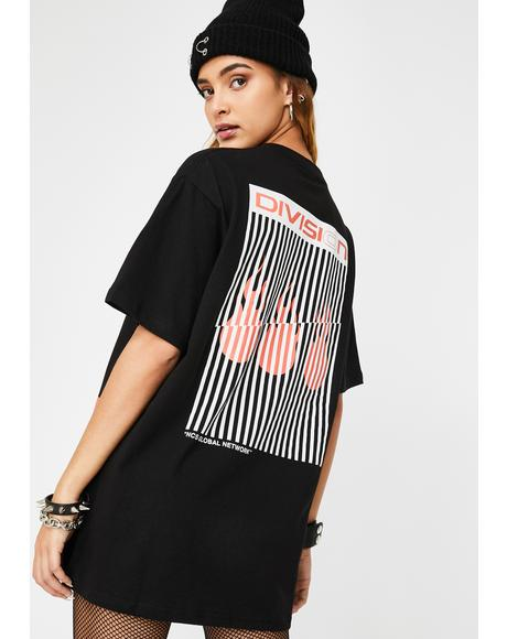 Look Down You Graphic Tee