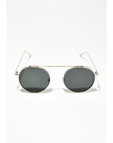 Odd World Circle Sunglasses