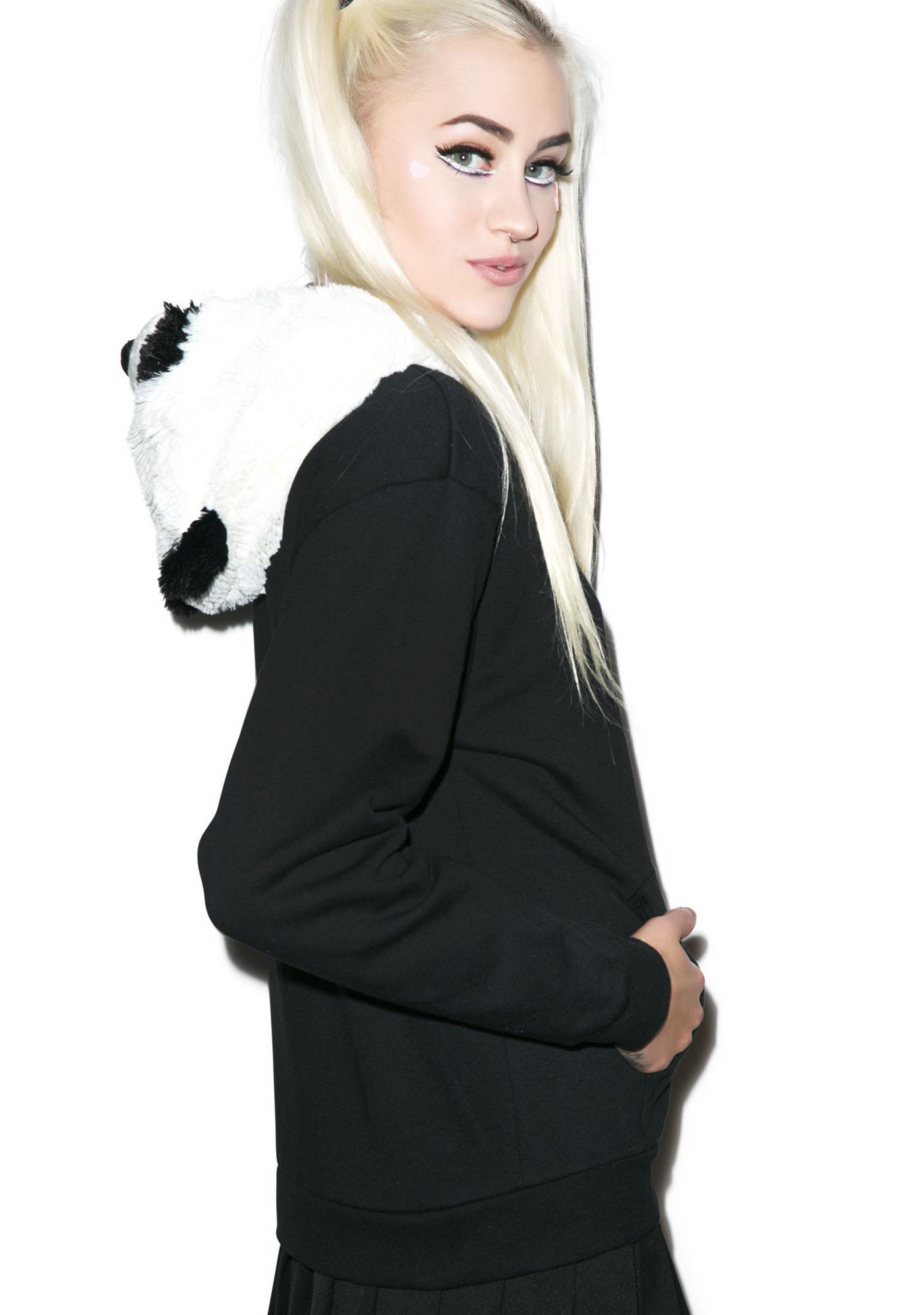 Pillow Pets Comfy Panda Hoodie