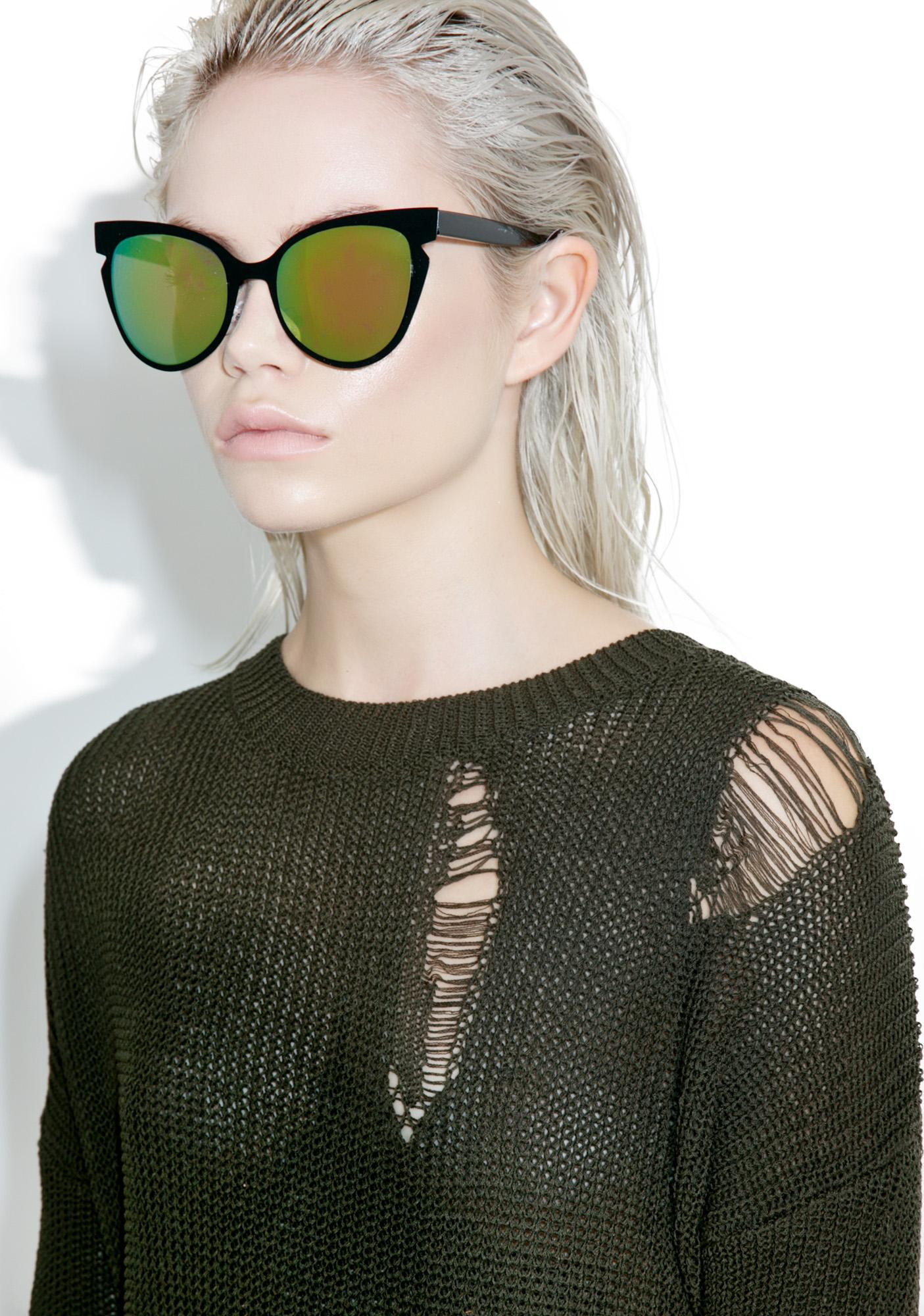 Envy Cat Eye Sunglasses