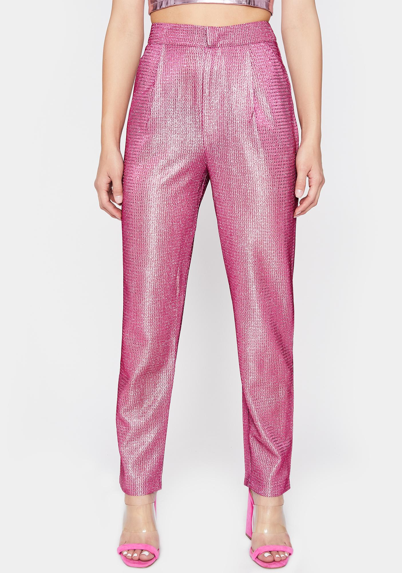 Sweet Disco Diva Sparkle Trousers by