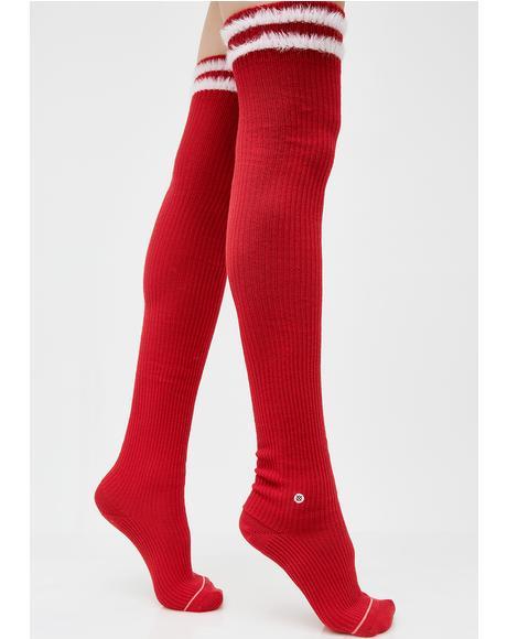 Fur Fatale Socks