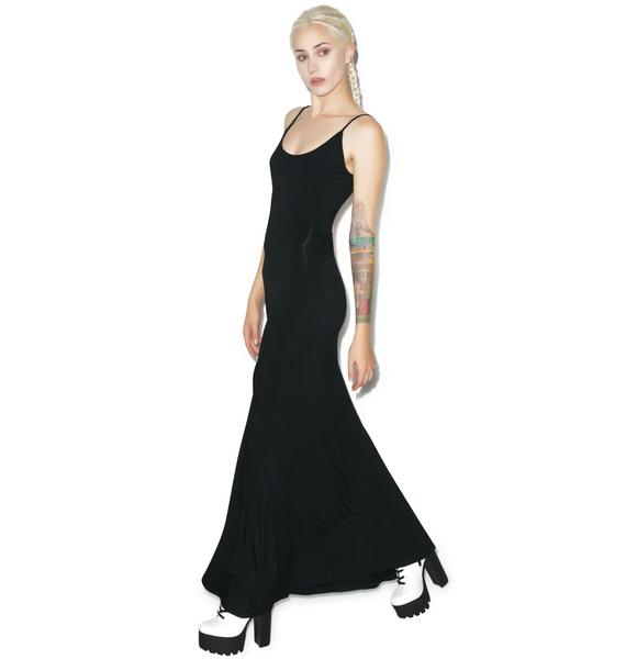 Rise of Dawn Take Me Backless Maxi Dress