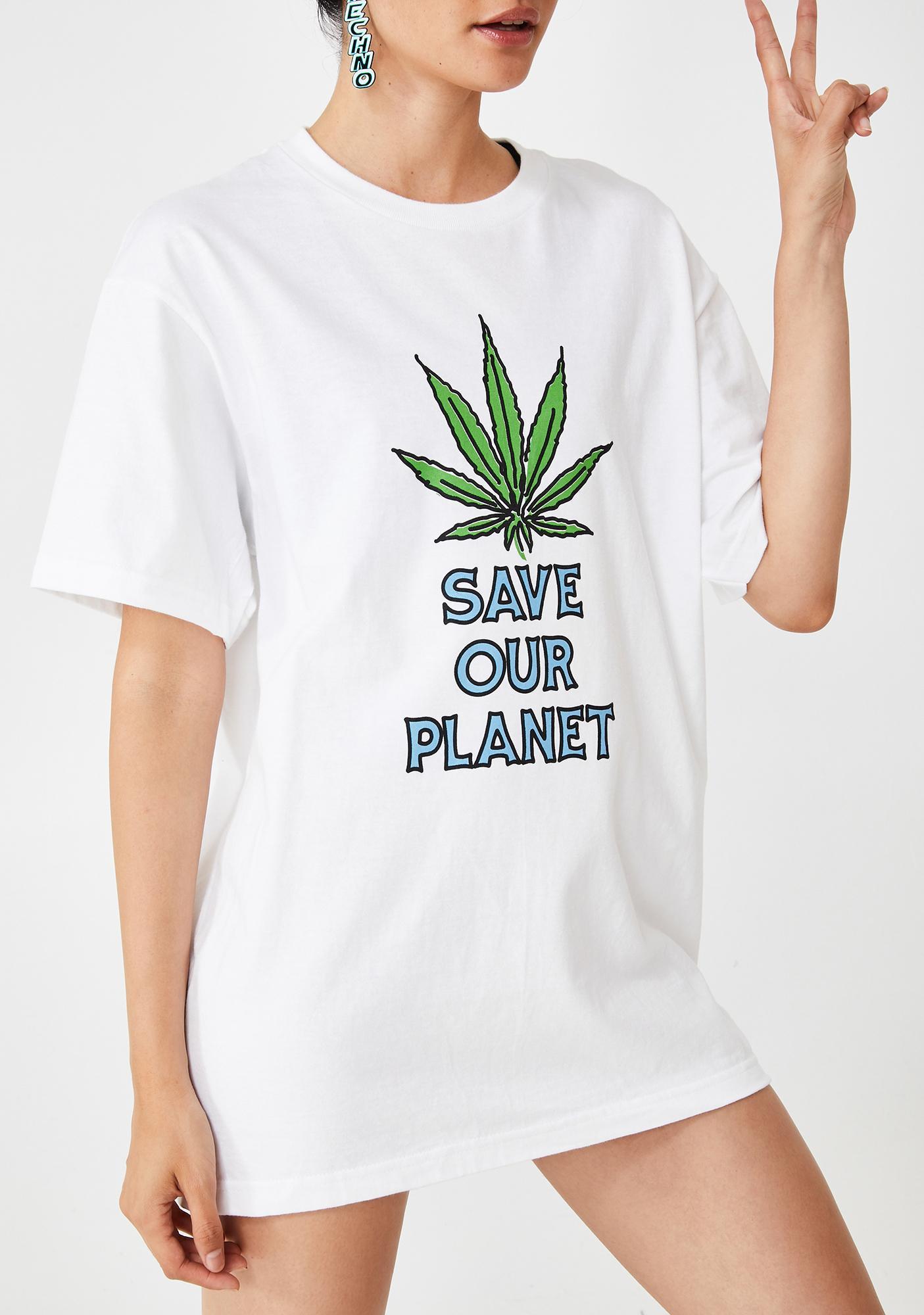 Samborghini Save Our Planet Graphic Tee