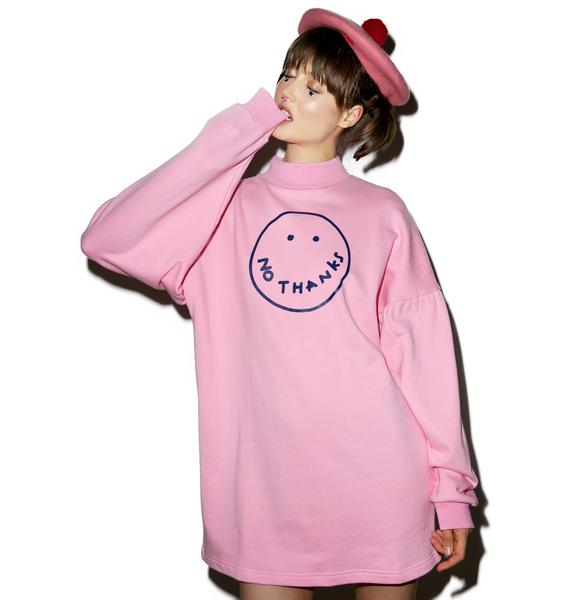 Lazy Oaf No Thanks Sweater