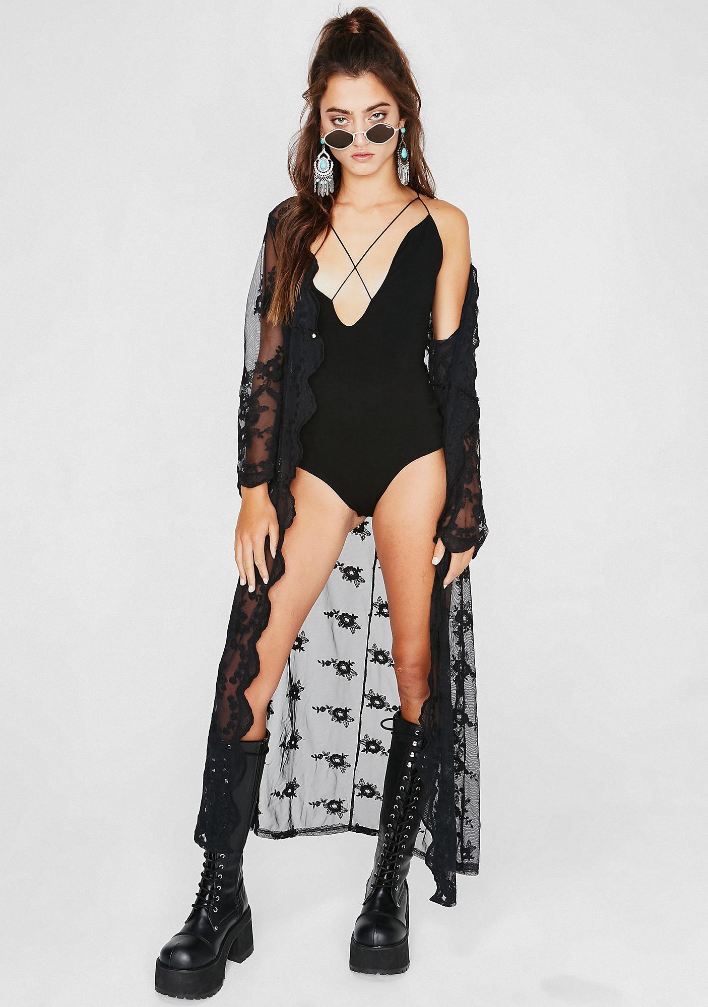 Get It Girl Strappy Bodysuit