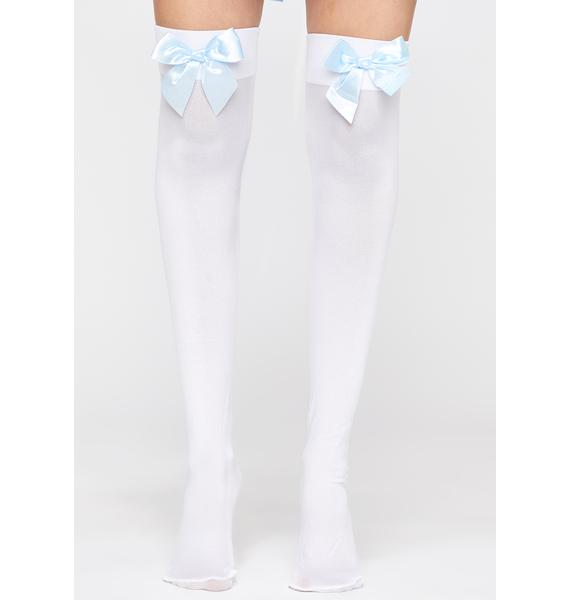 Royally I'm Over It Thigh Highs